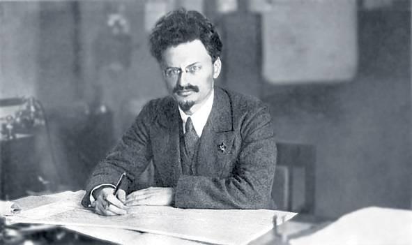 列夫·托洛茨基。//圖片來源:維基媒體